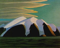 The Cricket Chirps — Lawren Harris, North Shore, Baffin Island, 1930 Group Of Seven Art, Group Of Seven Paintings, Emily Carr, Canadian Painters, Canadian Artists, North Shore, Landscape Art, Landscape Paintings, Impressionist Landscape