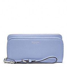 Coordinating color Coach clutch for a #bridesmaid gift! @Coach, Inc., Inc. Legacy Leather Double Accordion Zip