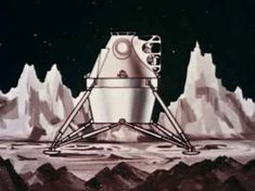 The Lunar Module was an iconic spacecraft which carried two-man crews to and from the Moon's surface during NASA's Apollo Program of the and Along with the Saturn […] Apollo Spacecraft, Moon Orbit, Lunar Lander, Project Mercury, Nasa Space Program, Apollo Program, Moon Surface, Apollo Missions, Retro Futuristic