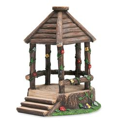 Miniature Fairy Garden Woodland Gazebo | Miniature Fairy Gardens