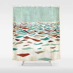 Sea Recollection Shower Curtain