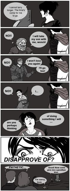 DA:O witch hunt, many outcomes by jubah on deviantART