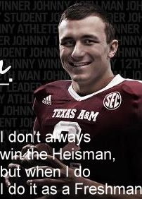 #aggies #johnny #manziel #heisman