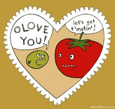 valentine's day vegetable puns