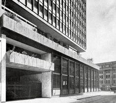 Obregón & Valenzuela | Banco Italiano - Francés | Bogotá, Colombia | 1958
