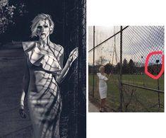 Администраторы сообщества «1px.vn Photography and Photoshop» в Facebook опубликовали фотографии, которые показывают «реальную сторону» создания рекламных снимков. В альбоме показано, как снять портрет на фоне пейзажа в студии, а аппетитную креветку — с помощью парового утюга.