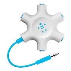 Belkin Rockstar weiß/blau: Amazon.de: Elektronik