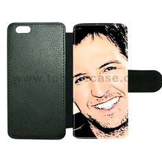 iPhone 6Plus cover made by leather with card hold Design With luke bryan