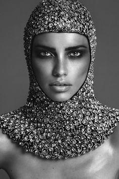 Adriana Lima by Mert Alas & Marcus Piggott for Vogue Paris, November 2014
