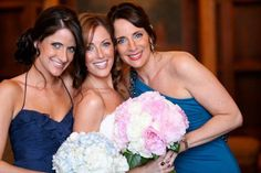 Bridal party that just glows!