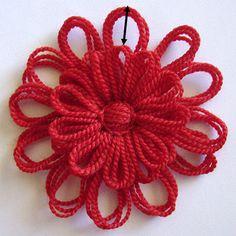 Flower Looms: Solomon's Knot Join