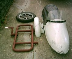 California Sidecar Companion and Frame