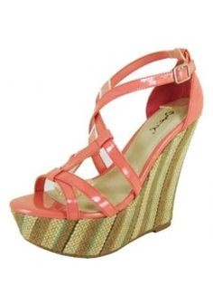 GILRY SUMMER STRAPPY WEDGE-Wedges-wedge heels,leopard wedges,suede wedges,Sexy wedges,white wedges,black wedges,sexy wedges,Silver Wedge