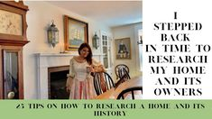 25 tips on how to research your house history and previous owners Interior Design Videos, New England Homes, Cape Cod, Research, Gallery Wall, Age, History, Tips, House