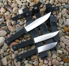 Fallkniven F1, S1, and A1 Knives the gold standard for bushcraft and survival our choice, hunting and fishing!