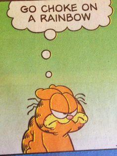 Garfield Comic- October 27, 2013 - Bwa ha ha ha ha haaa. (lol) :-)