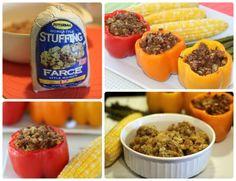 Butterball Stuffed Peppers no longer boring! Butterball Turkey, Butterball Recipe, Grilling Recipes, Snack Recipes, Cooking Recipes, Snacks, Great Lunch Ideas, Meal Ideas, Dinner Ideas