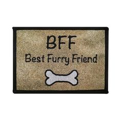 PB PAWS PET COLLECTION BY PARK B. SMITH BFF Tapestry Indoor Outdoor Pat Mat ** Learn more by visiting the image link.