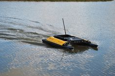 Kingfisher USV   Now there is no need for humans to do the fishing. Why would they go fishing if there are robots who can do that?