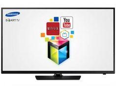 "Smart TV LED 40"" Samsung UN40H4203AG HDTV - Conversor Integrado 2 HDMI 1 USB Wi-Fi"