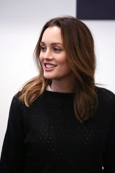 Leighton Meester looking lovely.