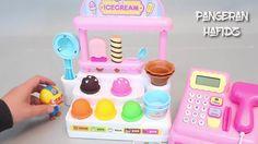 Mainan Kasir ❤ Mainan Ice Cream ❤ Play Doh Toy ❤ Berhadiah Telur Mainan