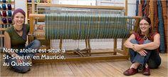 Notre atelier, situé en Mauricie, à St-Sévère, au Québec, Canada. Pour plus de détails: www.rienneseperd.com