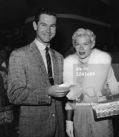 Johnny Carson and 1st wife, Jody