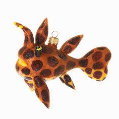 Leopard Fish Ornament