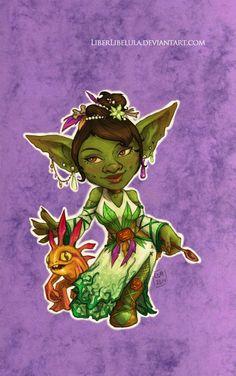 Princesas de Disney rediseñados como 'World of Warcraft' Personajes - Parte 13