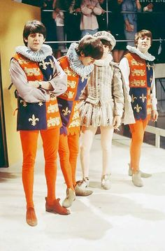 The Beatles in Shakespeare Mode