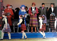 September 6, 1986: Prince Charles, Princess Diana, Queen Elizabeth, the Queen Mother and Sarah, the Duchess of York at the Braemar Highland Games in Scotland.