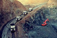 Extração  Mina de nióbio em funcionamento em Araxá, Minas Gerais - Foto: Reprodução/ZJ Mineração