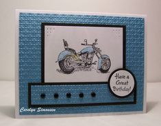 SC295 Birthday by snowmanqueen - Cards and Paper Crafts at Splitcoaststampers