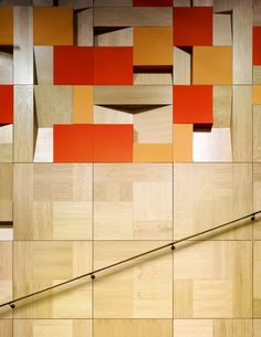 Timber panelling/acoustic panelling