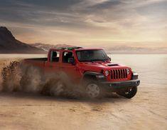 Das neue Modell markiert die Rückkehr der Marke in das Pickup-Segment und kommt zu den Feierlichkeiten des 80-jährigen Jubiläums von Jeep® zu den europäischen Händlern. Jeep Gladiator, Monster Trucks, City, Celebrations, Scale Model, Cities