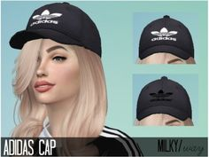 Sims 4 CC - Leads to a website that has nothing to do with the Sims - The Sims Resource: Ad cap by milky/way Sims 4 Tsr, My Sims, Sims Cc, Sims 4 Cc Eyes, Sims 4 Mods, Bone Da Adidas, The Sims 4 Bebes, Cc Hats, The Sims 4 Cabelos