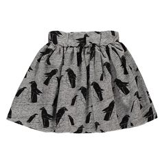 The best in girls' clothing is on Smallable: Bobo Choses, Emile et Ida, Louis Louise, Bonton… More than 800 brands. Cotton Fleece, Penguins, My Girl, Elastic Waist, Heather Grey, Girl Outfits, Mini Skirts, Collection, Fabric
