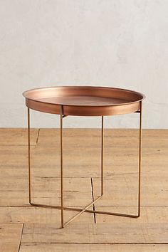 Check out the Kapona Tray Table in Coffee & Side Tables, Furniture from Anthropologie for Unique Living Room Furniture, Accent Furniture, Dining Furniture, Home Furniture, Furniture Design, Dining Chairs, Copper Furniture, Green Furniture, Distressed Furniture