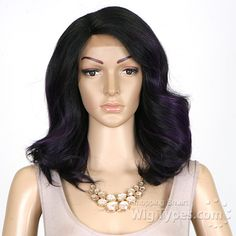 Freetress Equal Synthetic Hair Lace Deep Invisible L Part Lace Front Wig - PETAL BLOSSOM - WigTypes.com