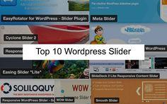 Top 10 WordPress Slider