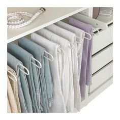 KOMPLEMENT Pull-out trouser hanger - 100x58 cm - IKEA