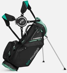 "Our most popular stand bag, the Three 5 golf bag is updated for 2015 with a new top which is flared for easier club retrieval, a new score card pocket, plus new body styling and colors. Built to carry, the Three 5 has the patent-pending Auto-Fit Dual Strap System, which is easy to adjust and easy to get on and off.  For women, we've made the bag 1"" shorter to better fit ladies' clubs."