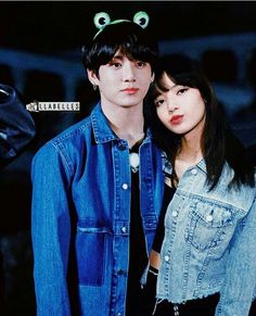 Lizkook Denim jackets K Pop, Mahal Kita, When Youre In Love, Funny Education Quotes, Bts Girl, Deep Thought Quotes, Kpop Couples, First Love, My Love