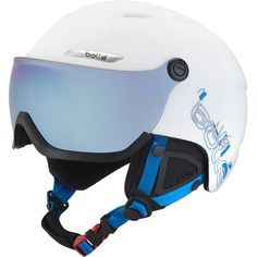 Casque visière Bolle B-Yond Visor White & Blue With Grey Blue Visor 2017