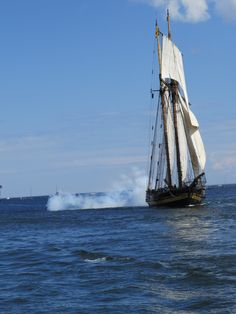 Tall Ship - Duluth Harbor - by Patty McQuiston - 7/25/13