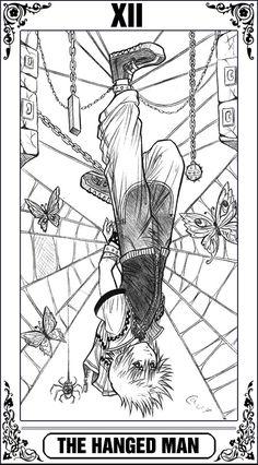 KH Tarot: The Hanged Man by Autumn-Sacura