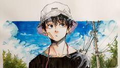 Pretty Art, Cute Art, Manga Art, Anime Art, Art Sketches, Art Drawings, Manga Watercolor, Character Art, Character Design