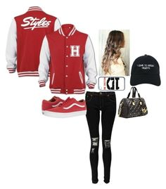 """""""going out ~"""" by chweetprincess ❤ liked on Polyvore featuring Boohoo, Vans, Nasaseasons and MICHAEL Michael Kors"""