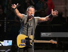 Bruce Springsteen performs onstage at Madison Square Garden on March 28, 2016 in New York City.